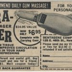 It seemed like a really good idea at the time: the Vibra-Finger Gum Massager