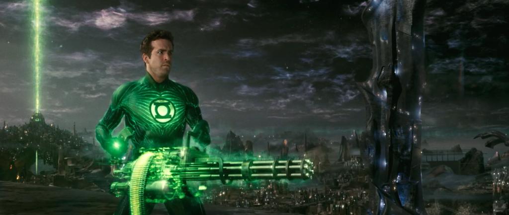 Green Lantern Boot Camp
