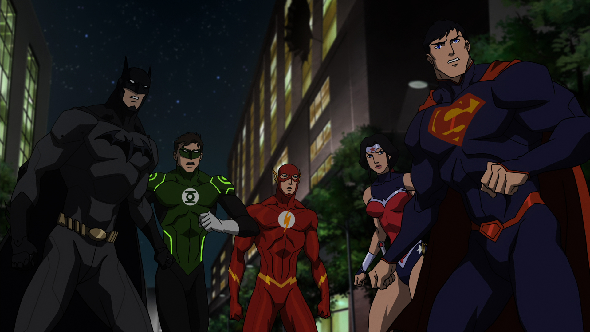 Justice League WB Animation