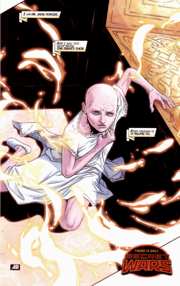 And there we go. Jane Foster.