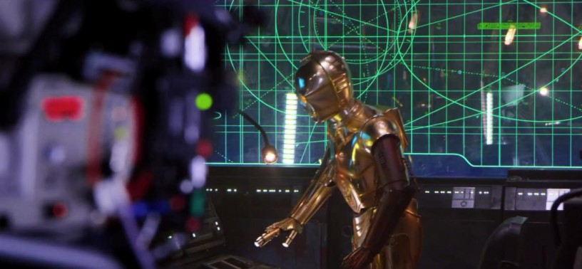 Star Wars The Force Awakens C3PO Behind The Scenes