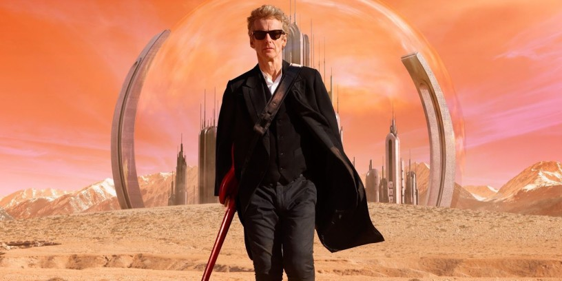 Peter Capaldi as the Doctor in 'Heaven Sent,' the finale of 2015's series 9.